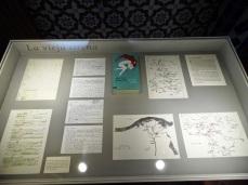 Documentación, guiones y demás escritos relacionados con la novela La vieja sirena, de José Luis Sampedro. Foto Blog ElPaisQueNuncaSeAcaba