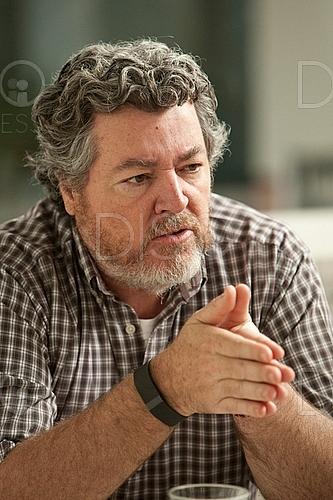 Juan Lopez Uralde en Rueda de prensa de EQUO Sala Ecooo sobre cambio climatico